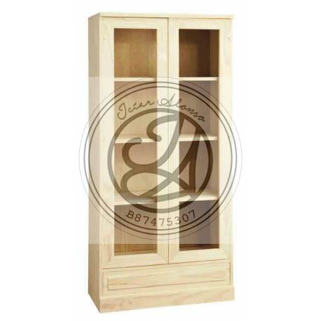 Showcase 1 drawer 2 doors