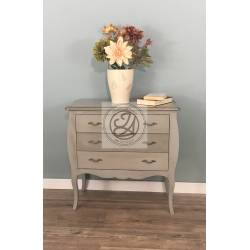 Hardwood Chest of Drawers - Green Water Color