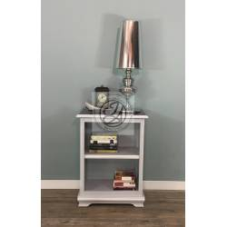 Mini bookcase - greyish blue