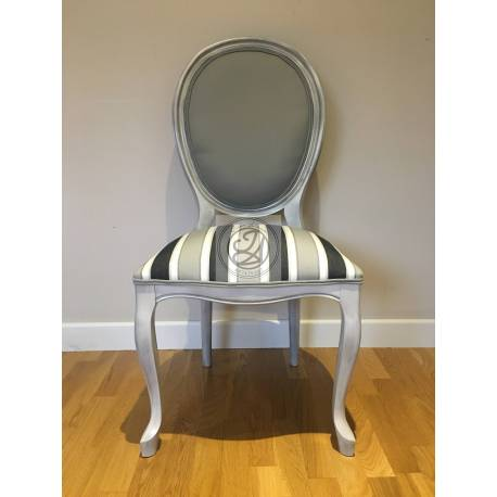 Brown Lacquered Chair